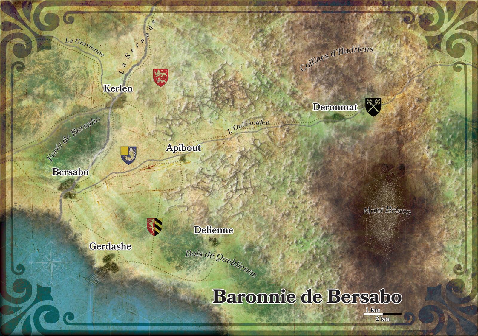 La Baronnie de Bersabo
