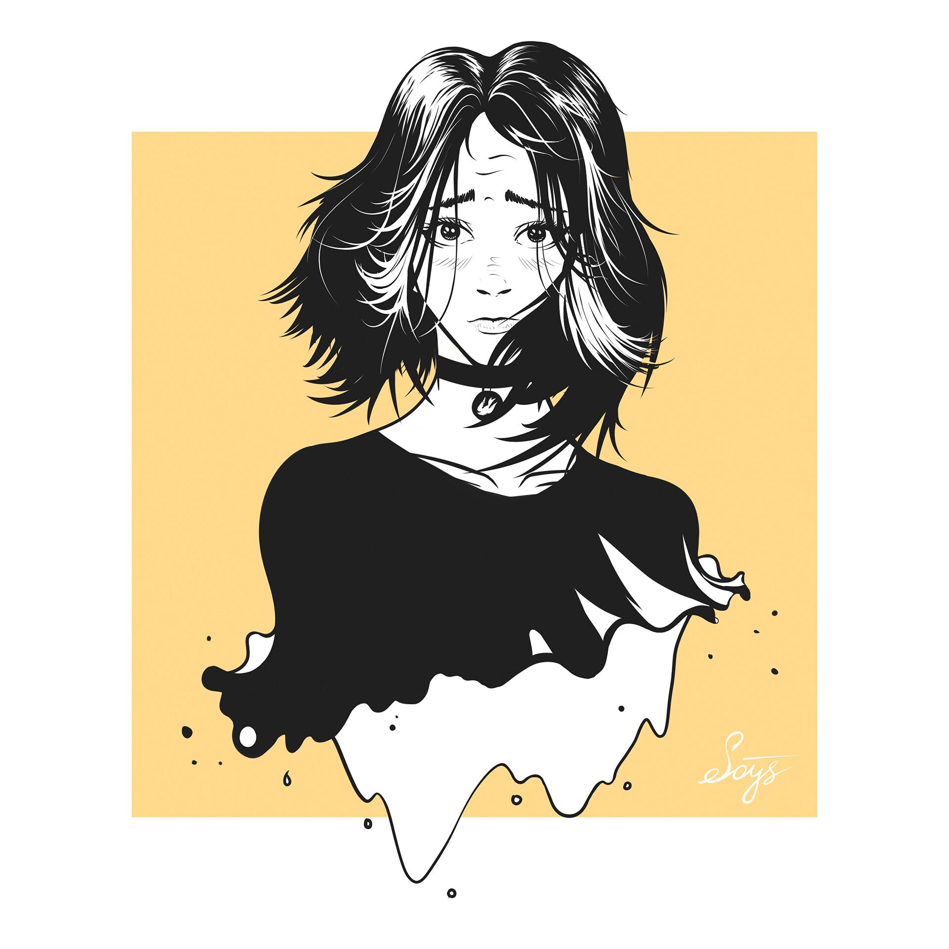 Artstation Doomer Girl Mike Soys