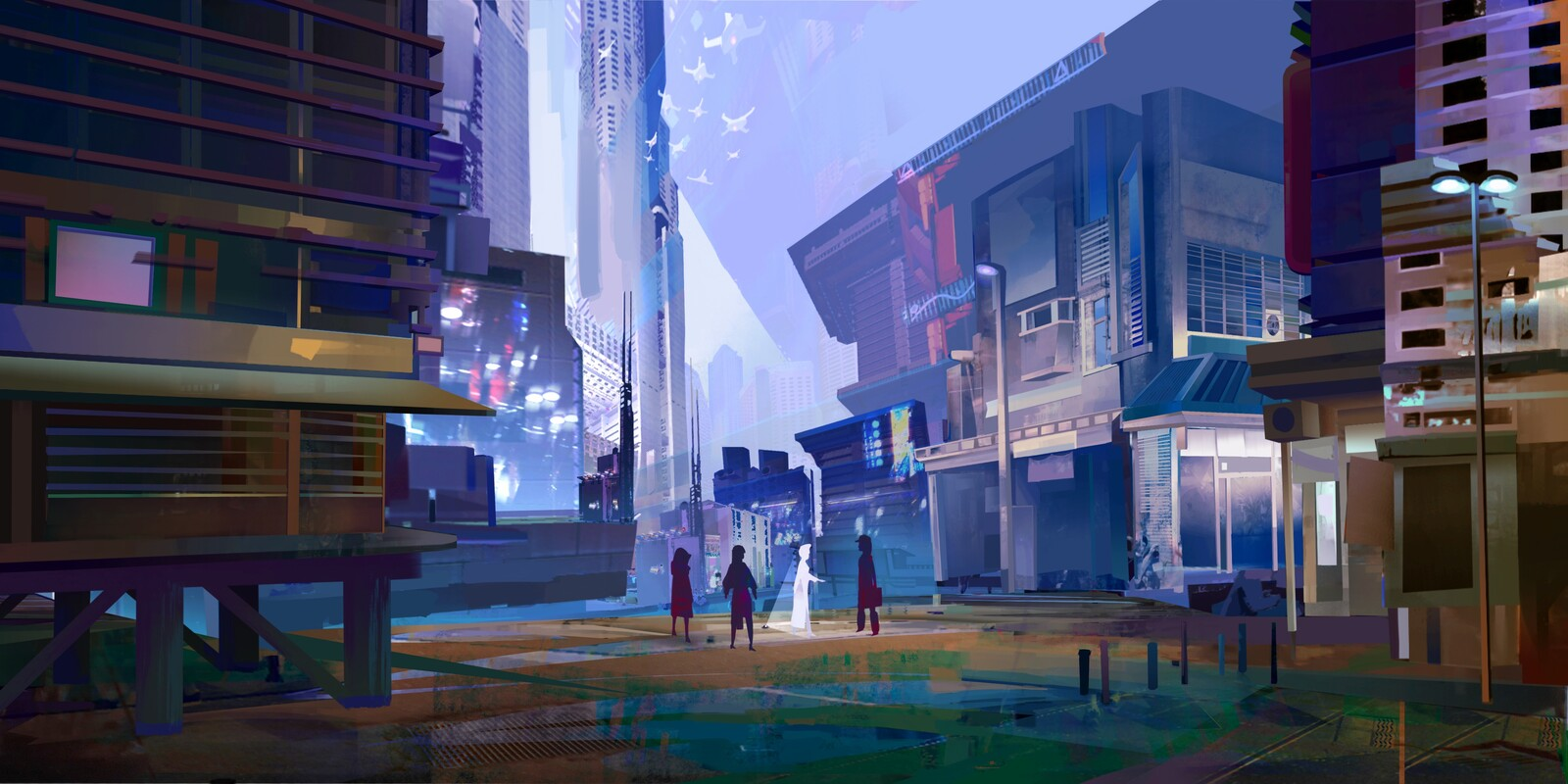 Cyber streets