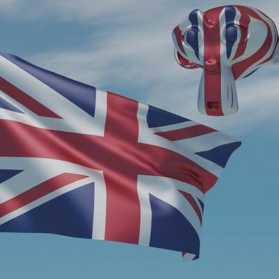 Sergio azzini british flag 4