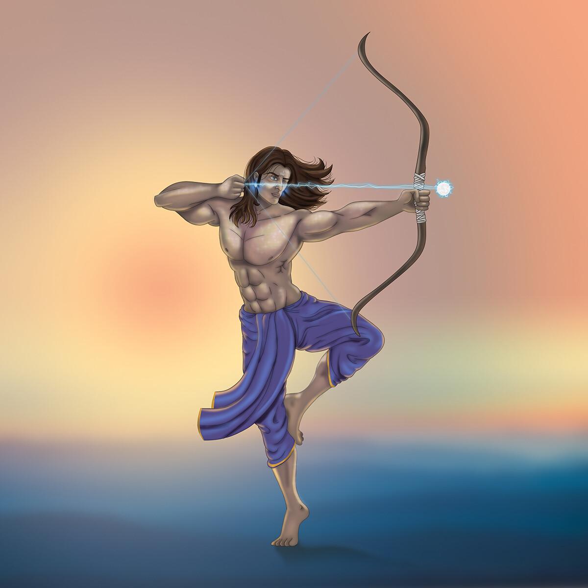 ArtStation - Karn (कर्ण), Alok Joshi
