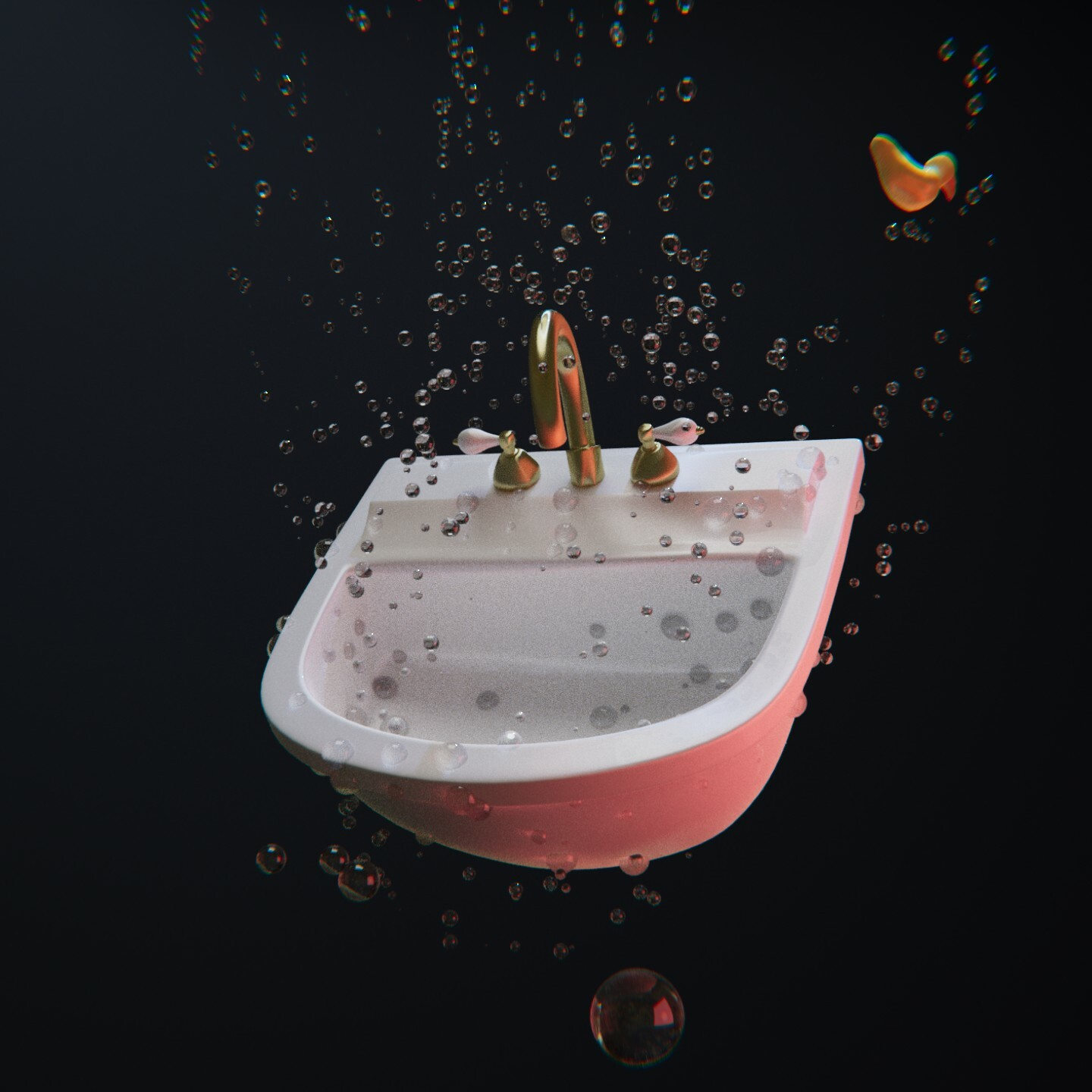 SculptJanuary2020 - Day23 - Sink