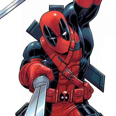 David nakayama deadpool 90s front back final