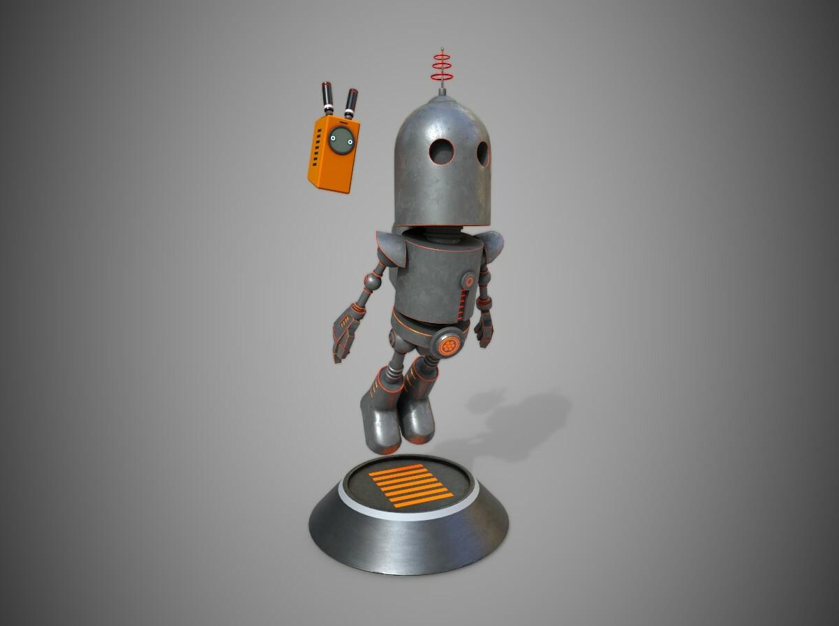 Robots  Maya, Zbrush, Substance Painter, Marmoset Toolbag, and Photoshop
