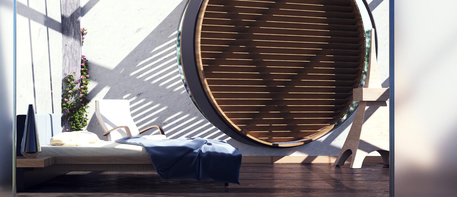 Latticework roof _Lima