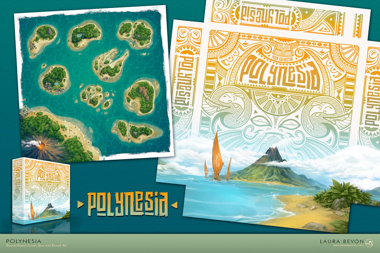 Polynesia juego de mesa