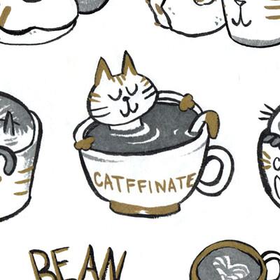 Sandra rosado sketchbook coffeecatssmall