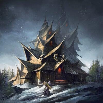 Tomasz chistowski witch hut2