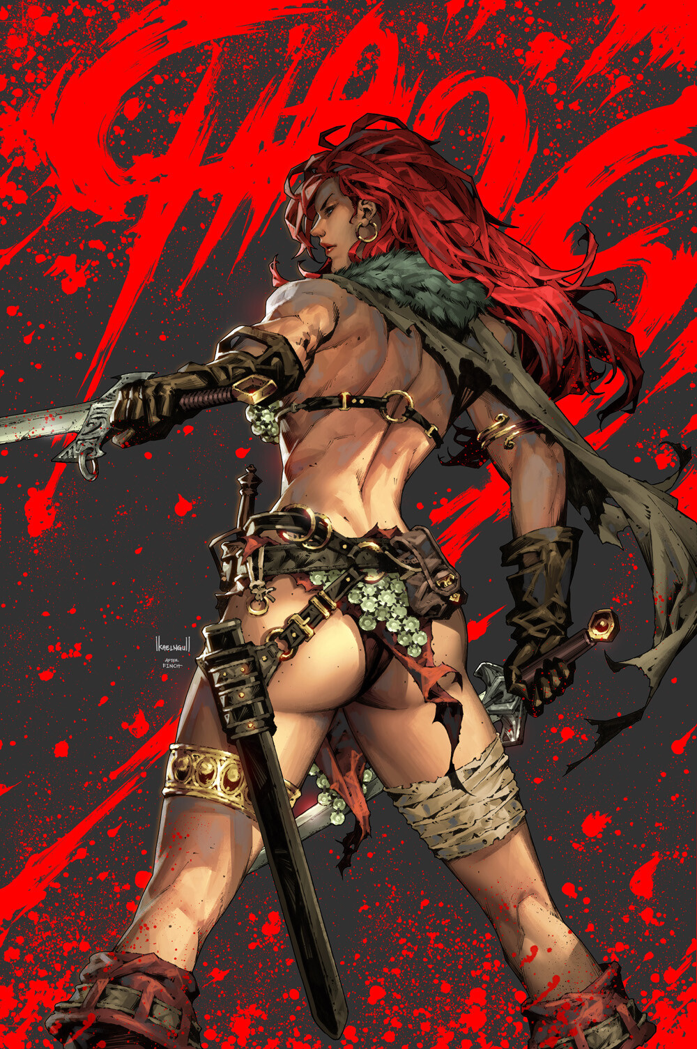 Red Sonja : Age of Chaos #2