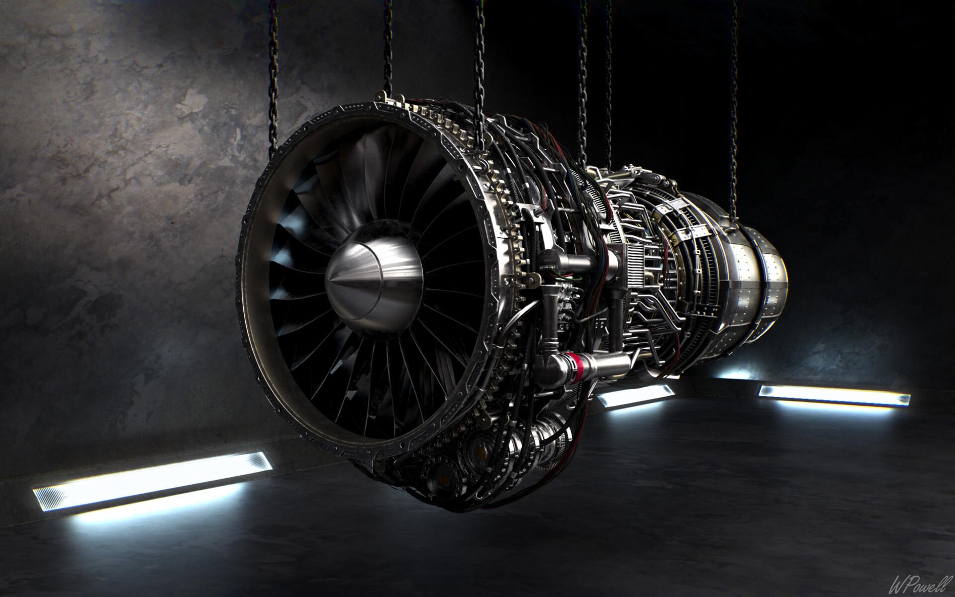 Artstation Turbine Engine Warren Powell