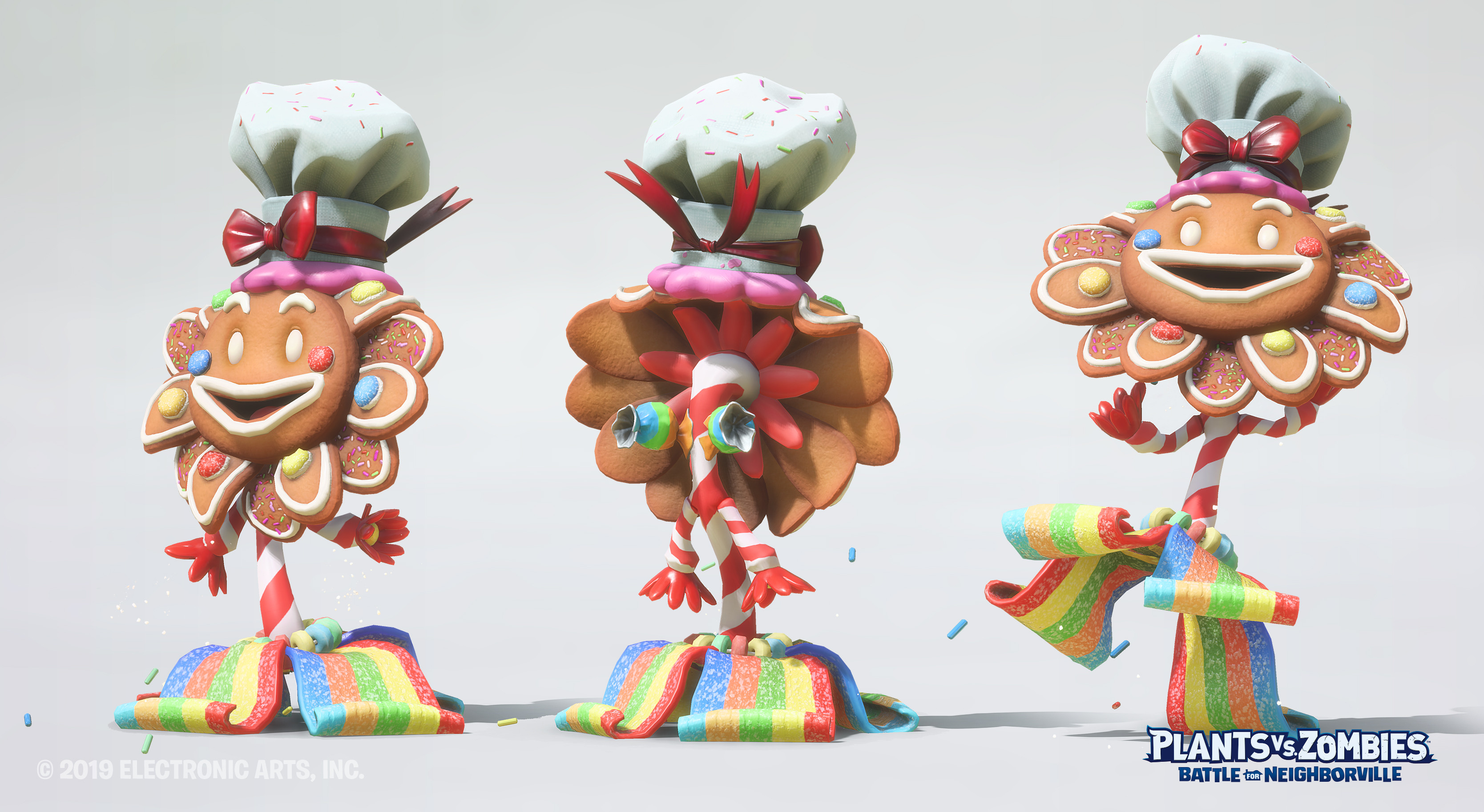 Gingersun Flower Skin