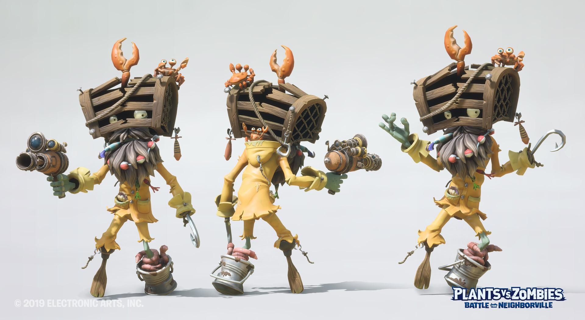 Captain Shipwreck Skin Textures: Adriana Zamora Highpoly Sculpt: Iouri Rybalka, Oscar Loris, Mirim Lee, Meggie Wang