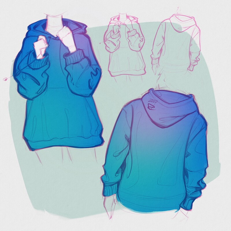 Sketching Hoodies