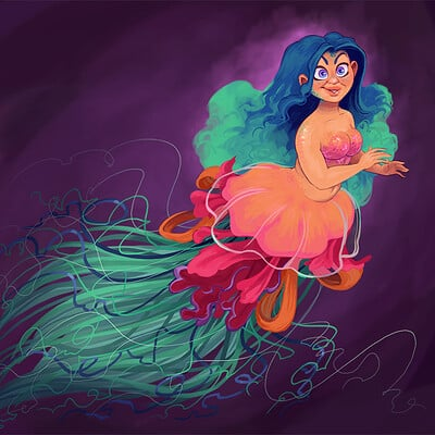 Sandra rosado jellyfishmermaid