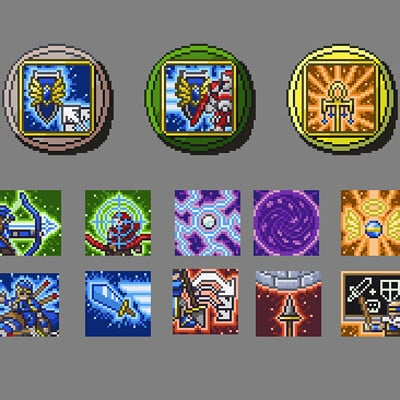 Heroes for Hire - Ability Icons