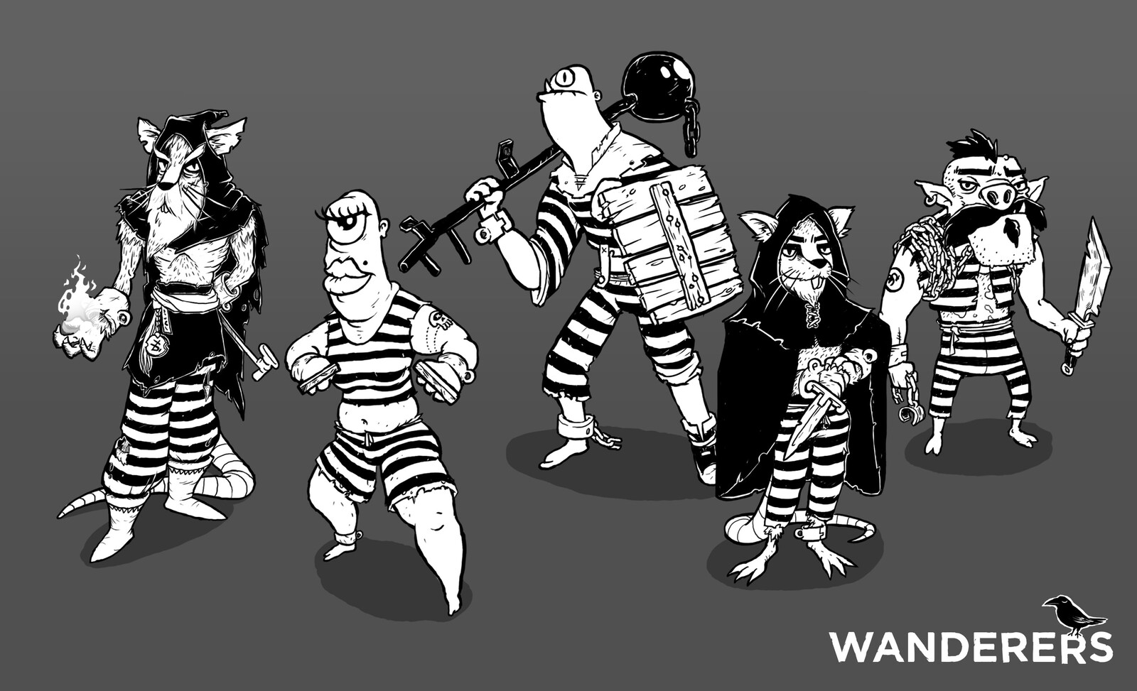 Enemies of the prison environment
