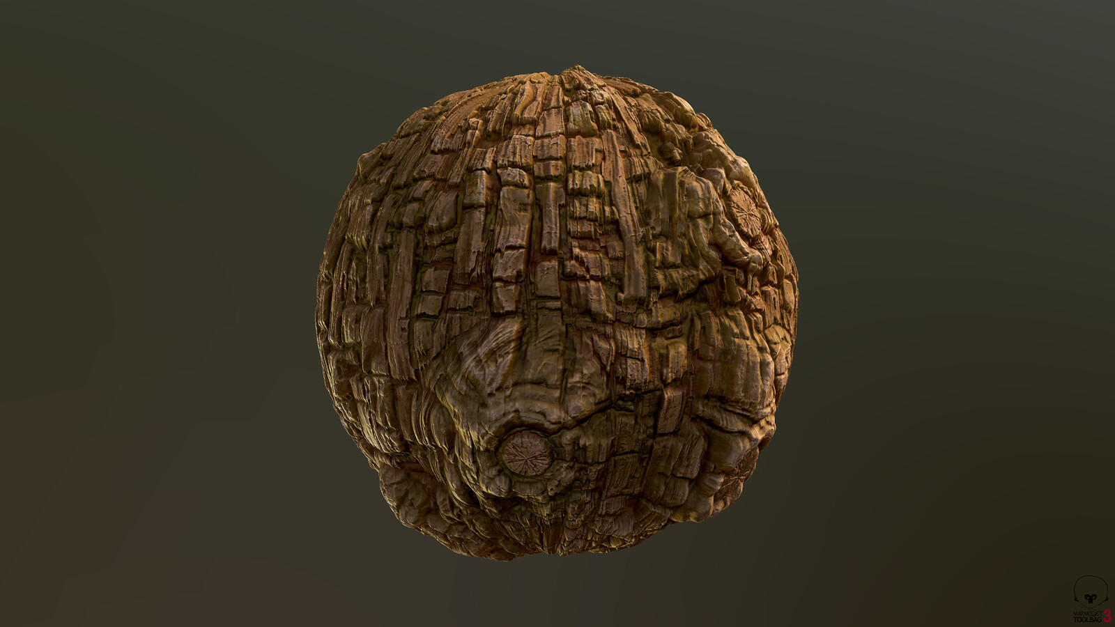 Tree Bark Material