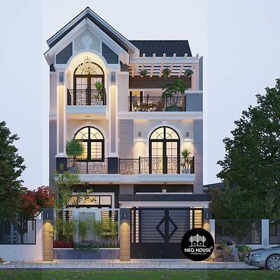 Neohouse architecture thiet ke biet thu pho mai thai neohouse