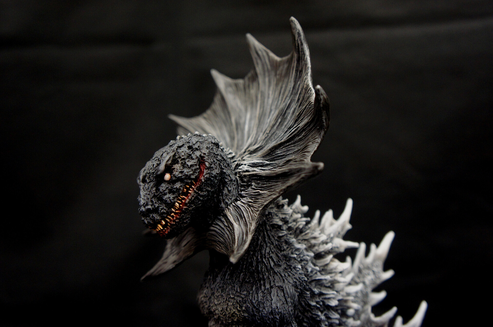 Image version Jirass (Ultraman Kaiju) Art Statue イメージ ジラース