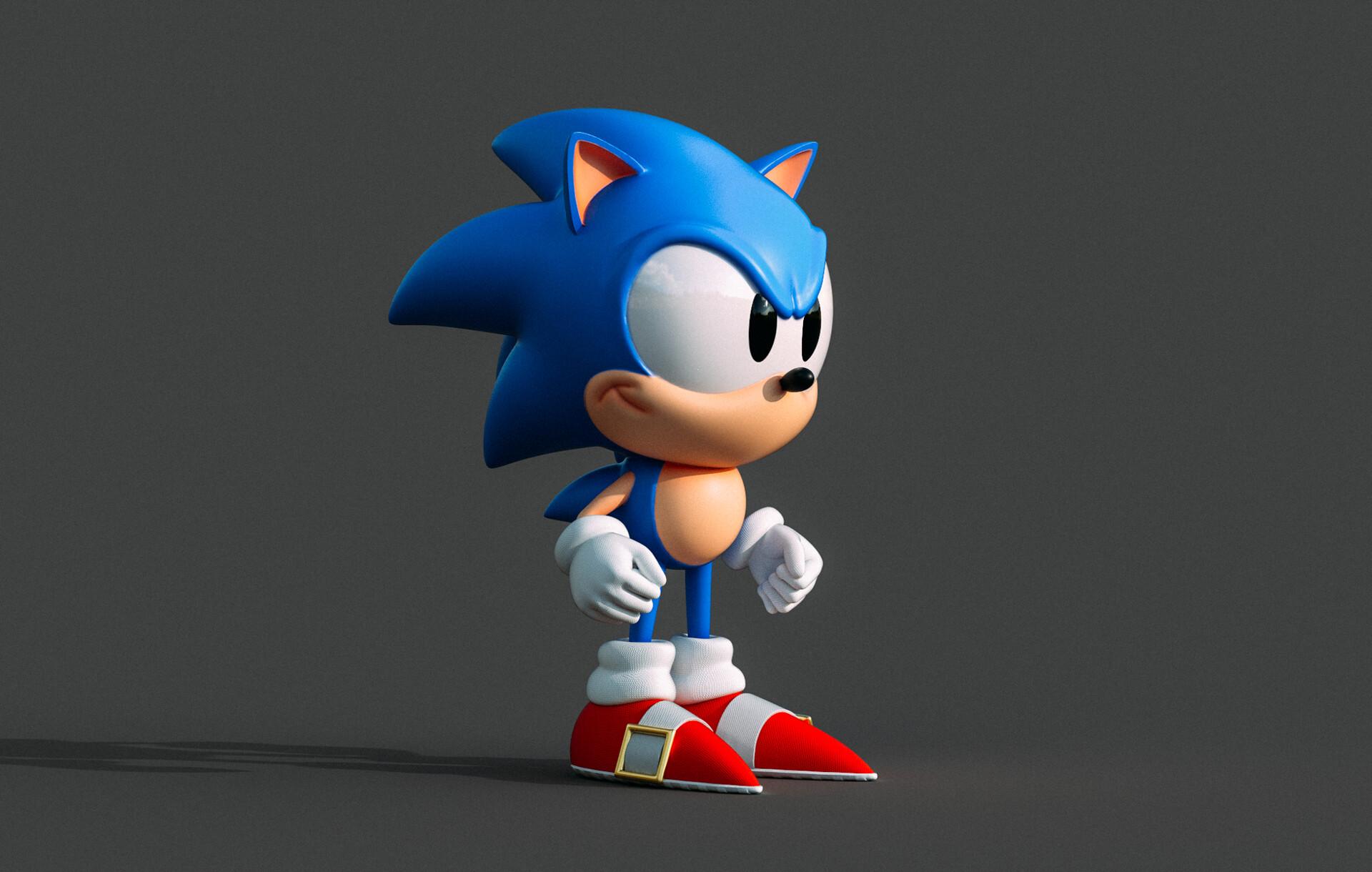 Artstation Sonic The Hedgehog Chris Harris