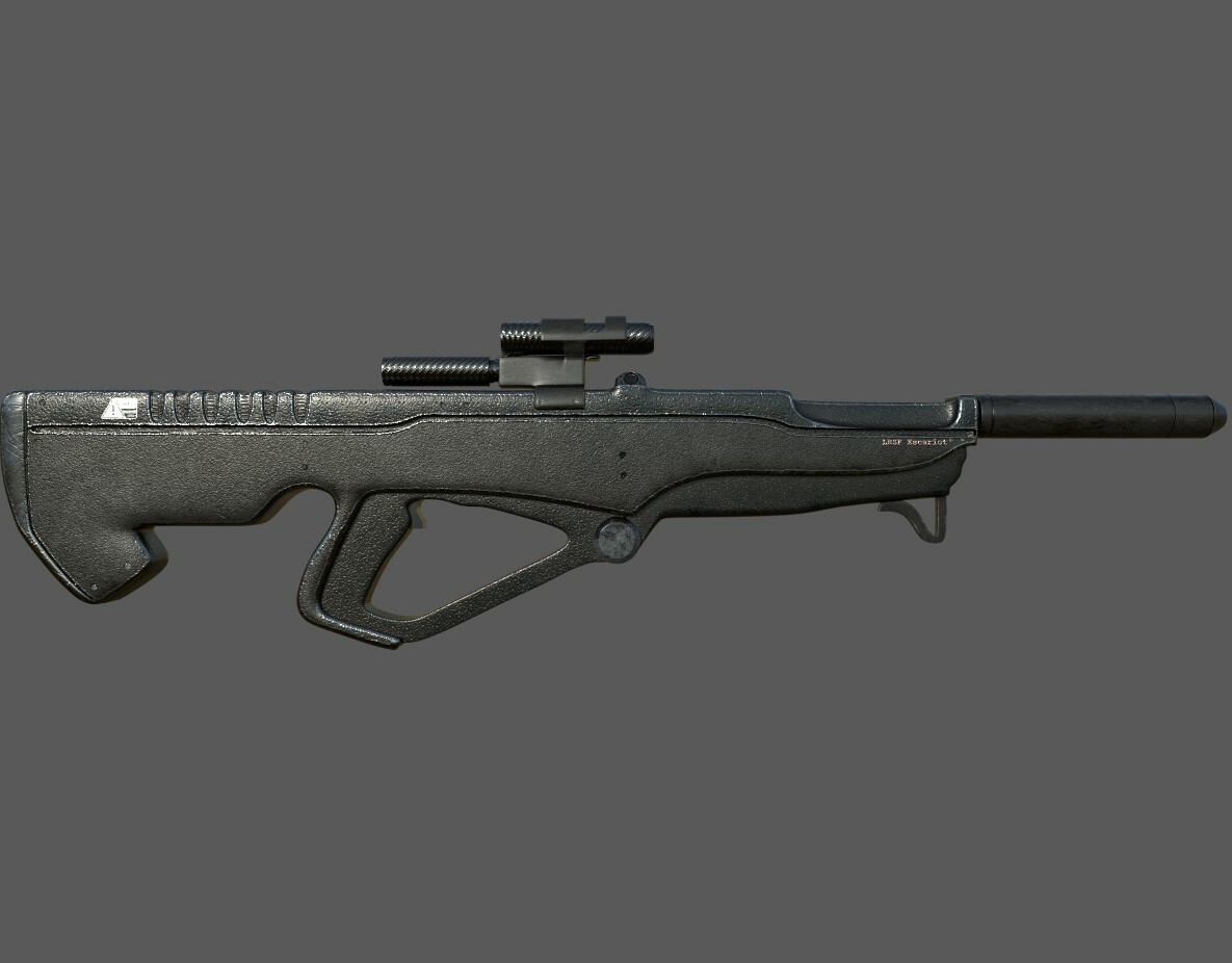 Escariot Long Range Sniper Rifle