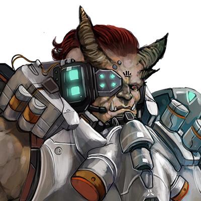 Frost llamzon shadowrun troll 3