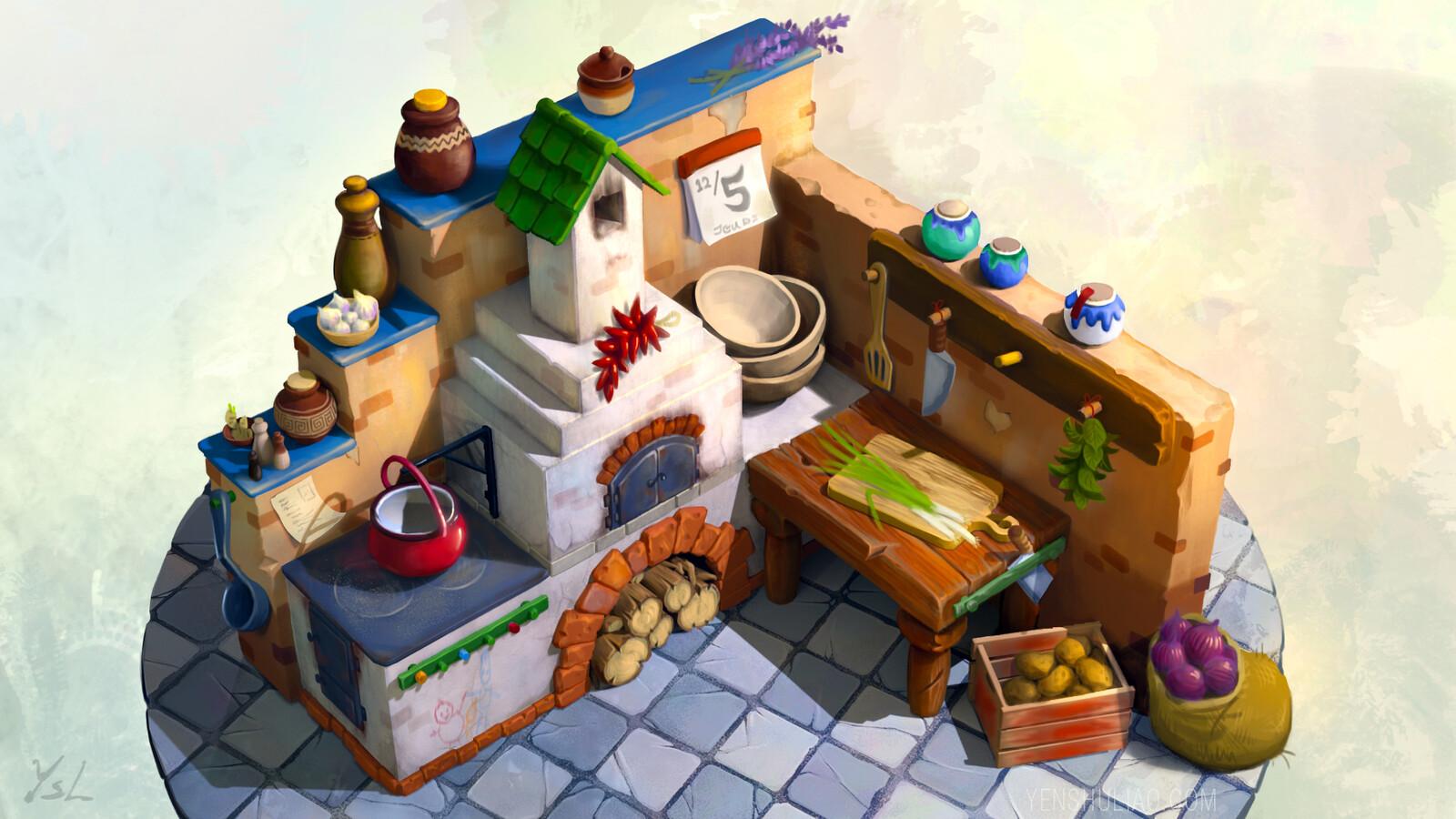 Mr. Onion's Kitchen