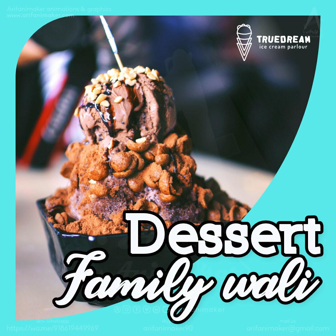 Post #6 - product three - dessert