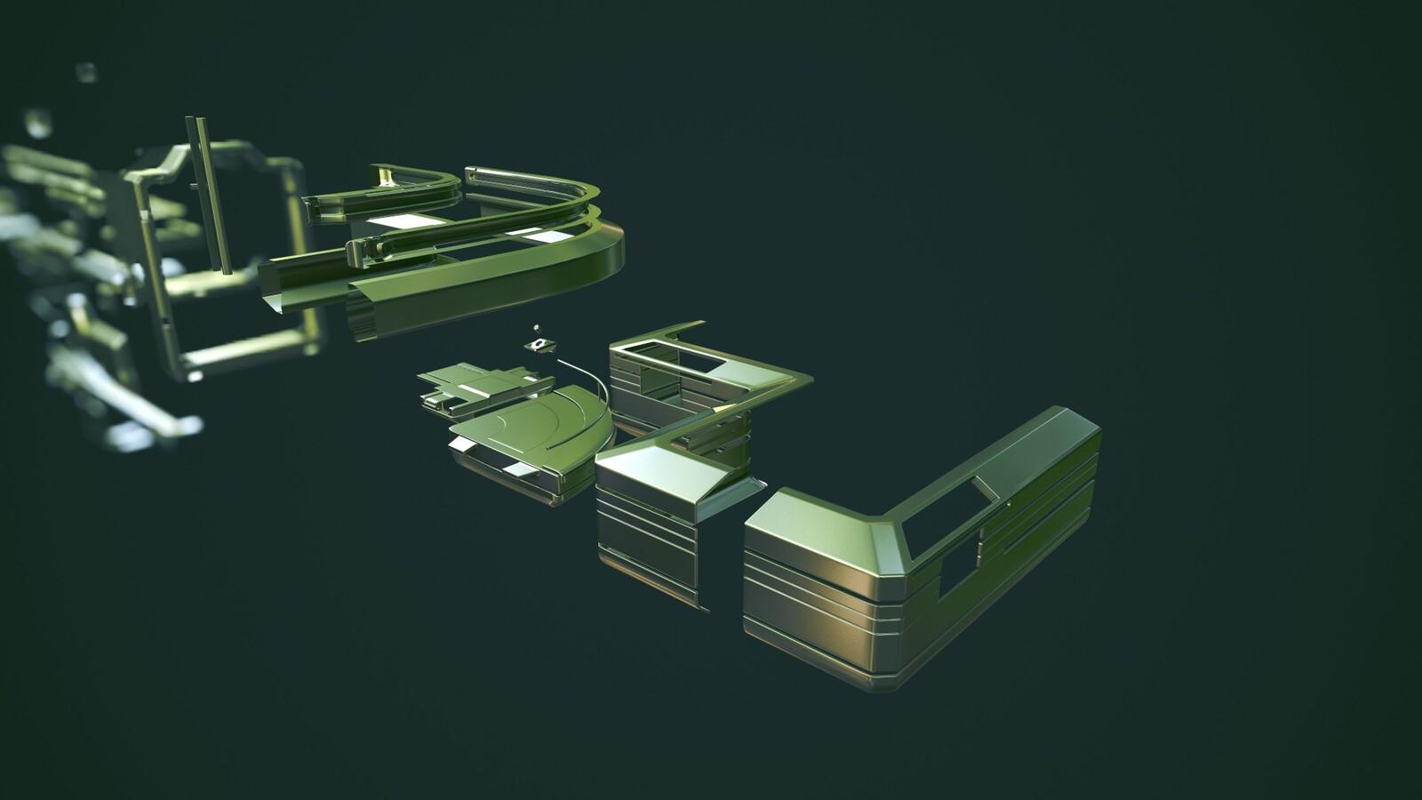 Actual base pieces T3
