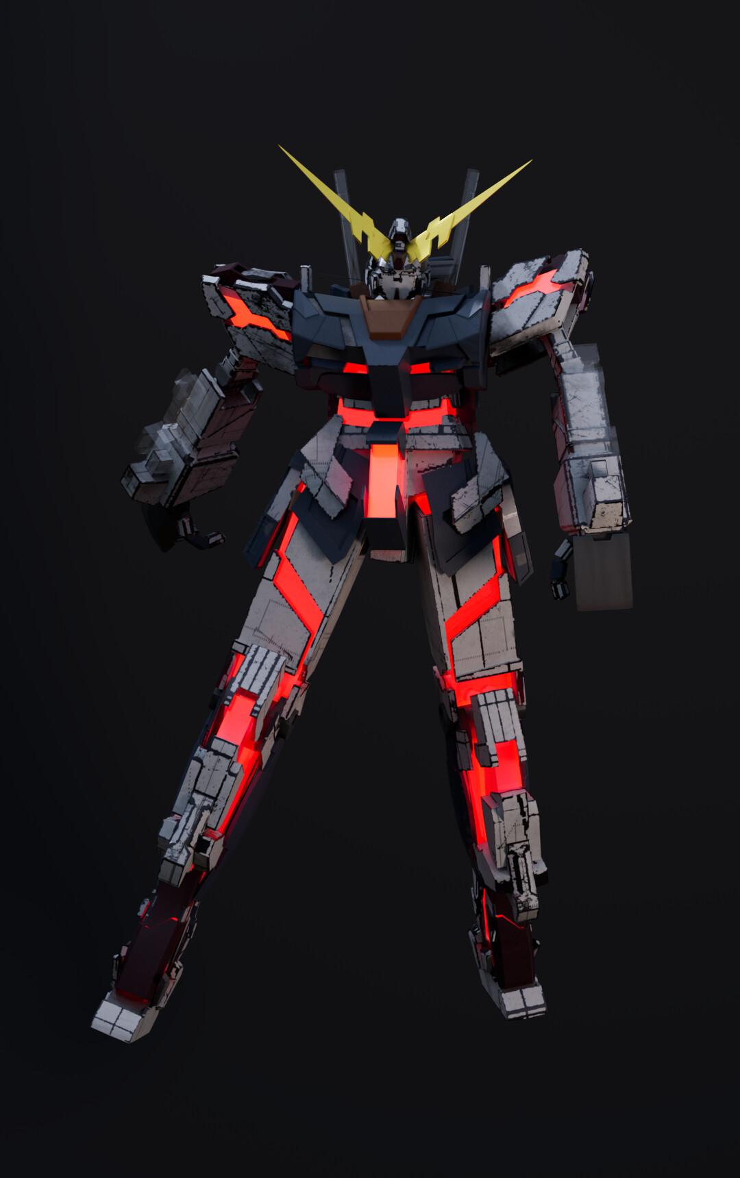 Gundam solo render