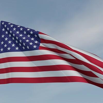Sergio azzini american flag 3