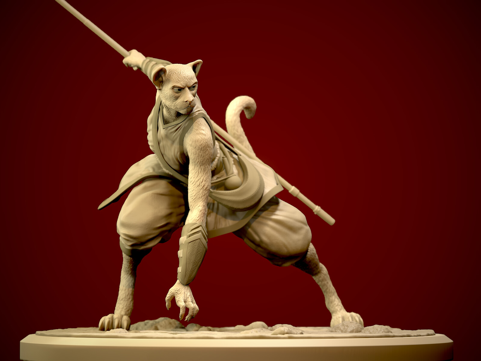 Tom Paterson Cloud D D Tabaxi Sculpt The tabaxi's free skills help to further pad the bard's already dexterity is a good basis for a monk, and the monk's speed increase applies to the tabaxi's climb speed, making you an excellent climber. tom paterson cloud d d tabaxi sculpt