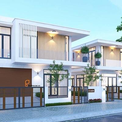 Neohouse architecture thiet ke biet thu kieu my tai hawaii 1