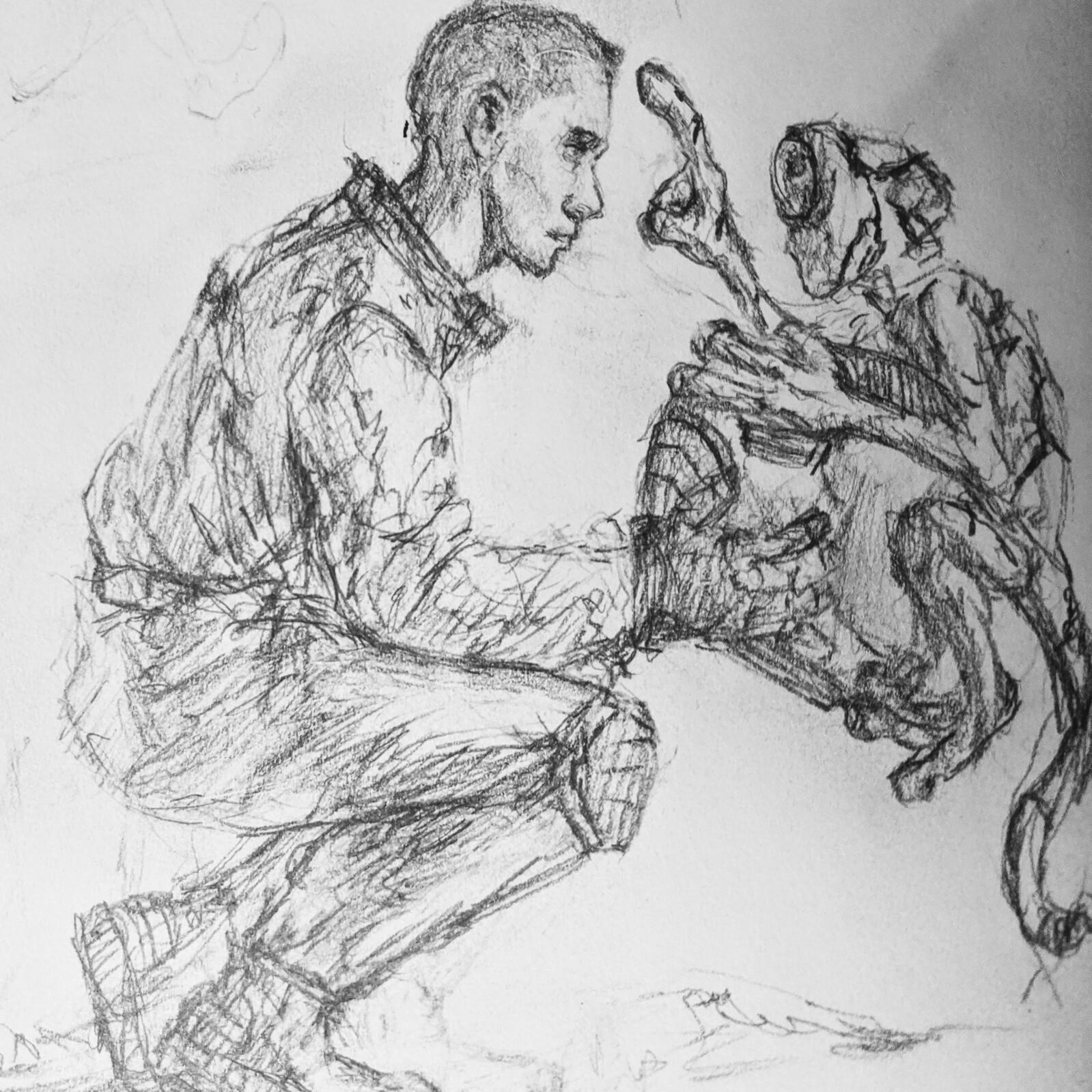 Pencil Sketch 2/10