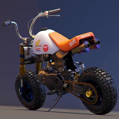 Ying te lien mini bike 0210a