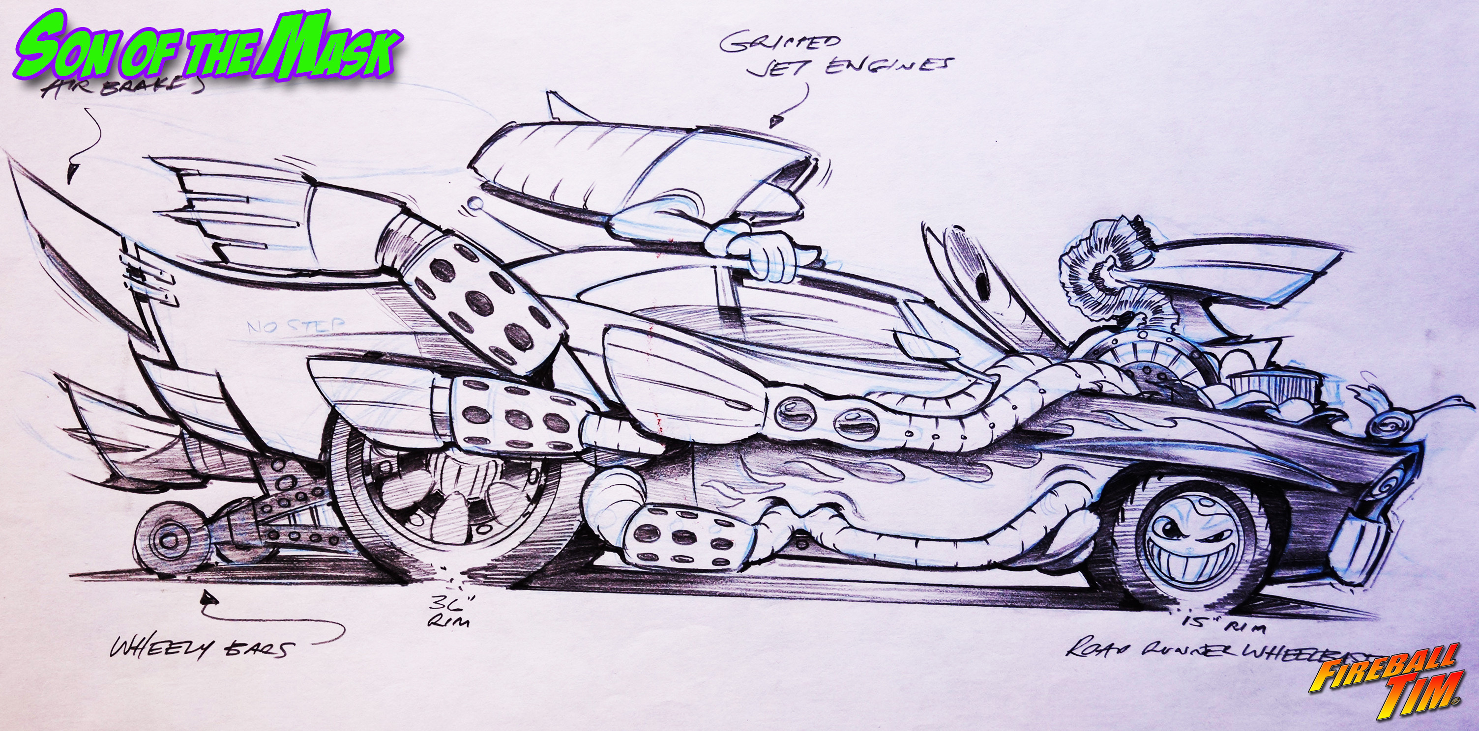 Vehicle Concepts - SON OF THE MASK