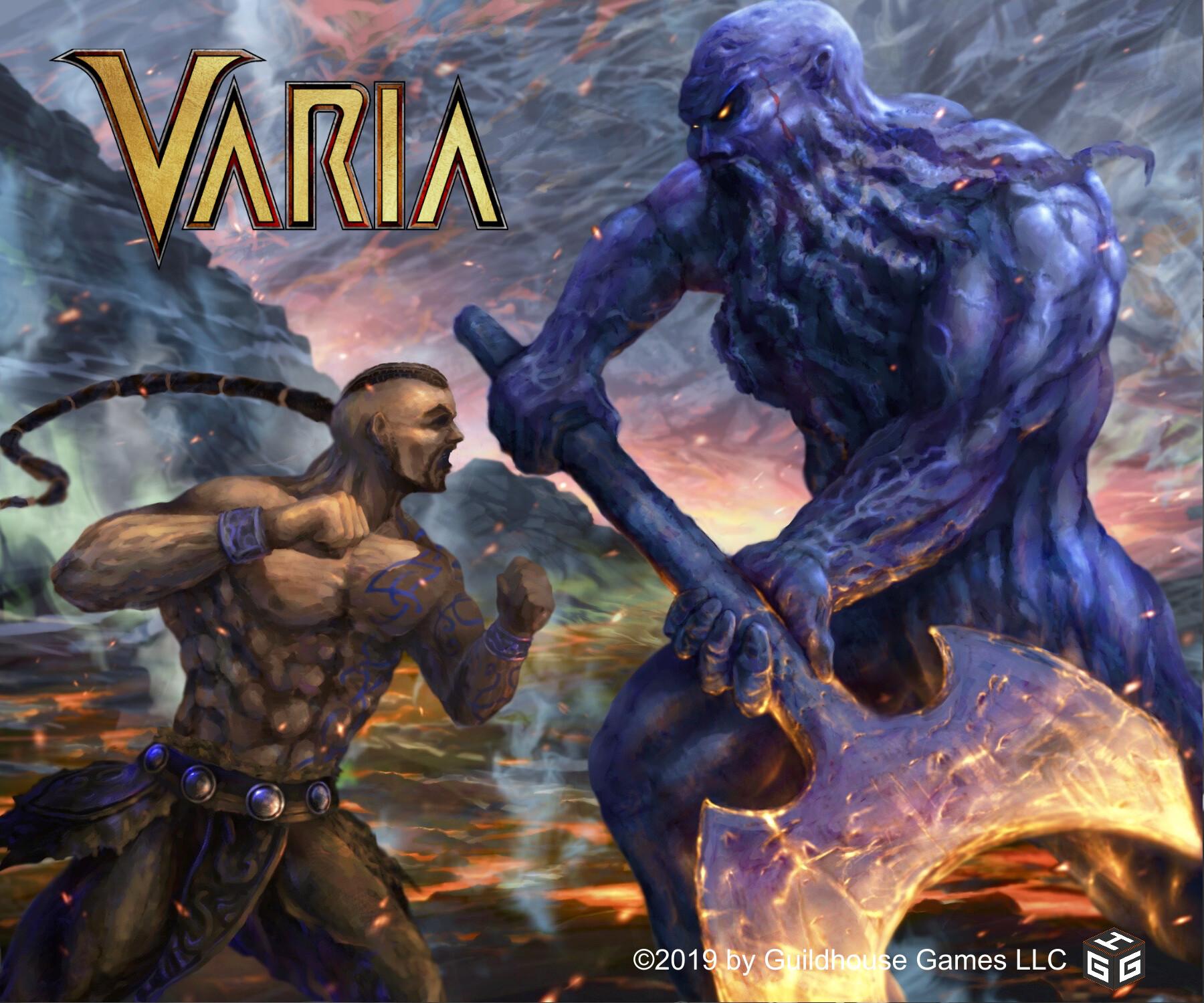 Barbarian vs mountain giant
