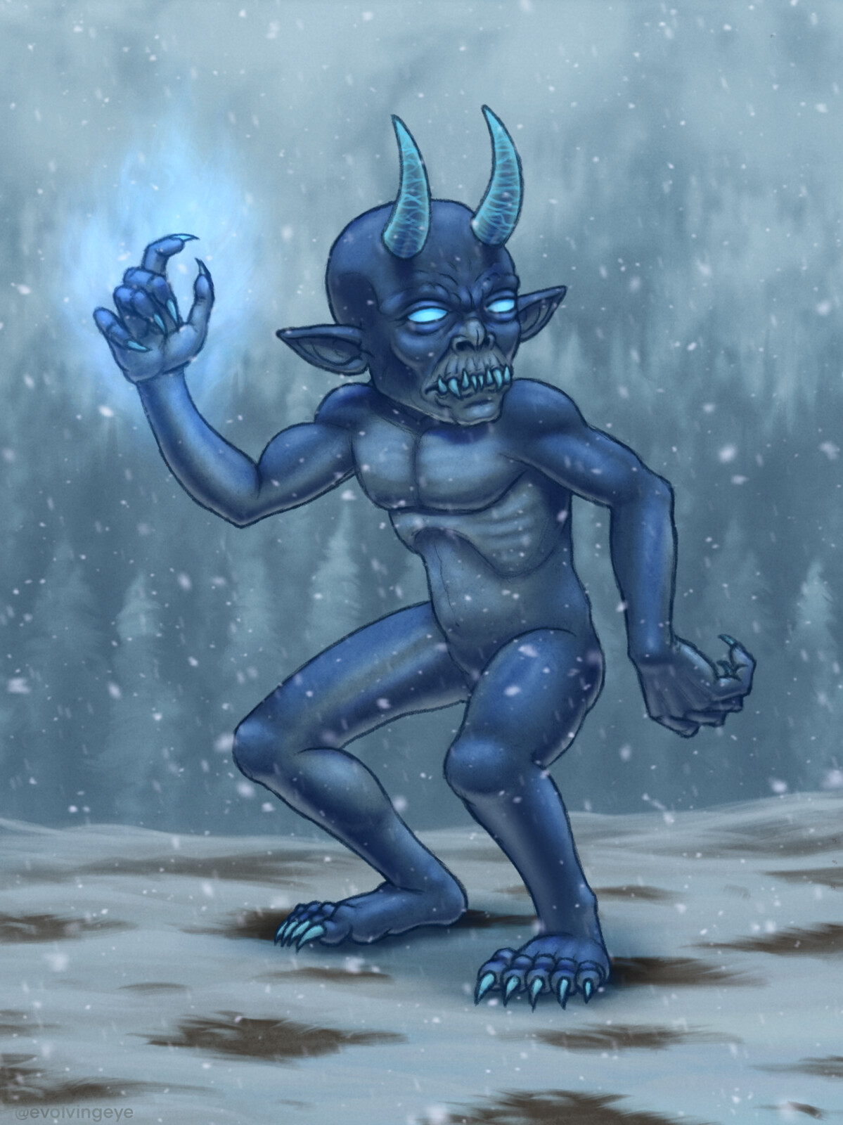 Frost Imp sketch