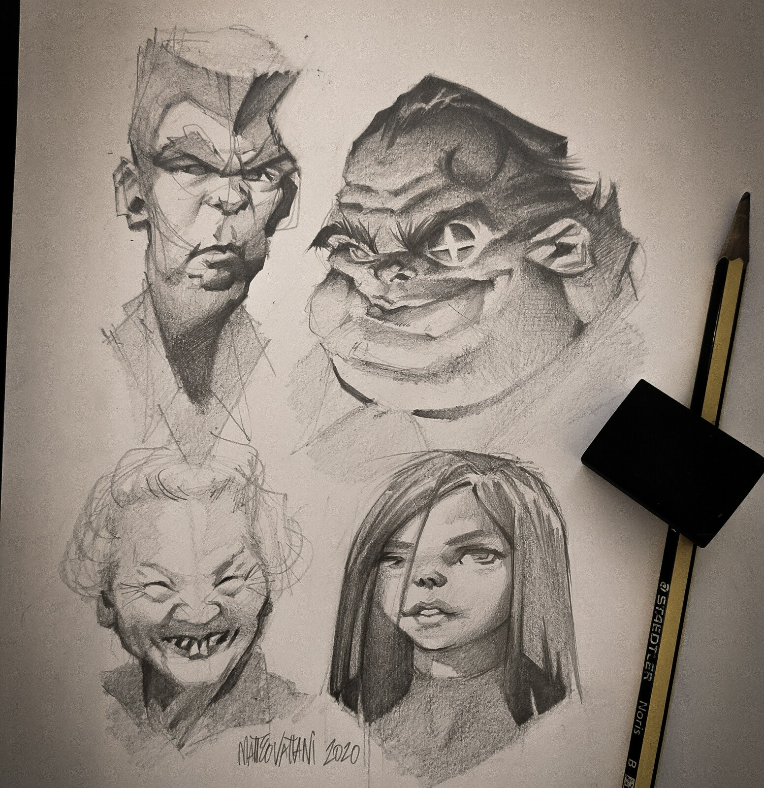 Characters sketches #1