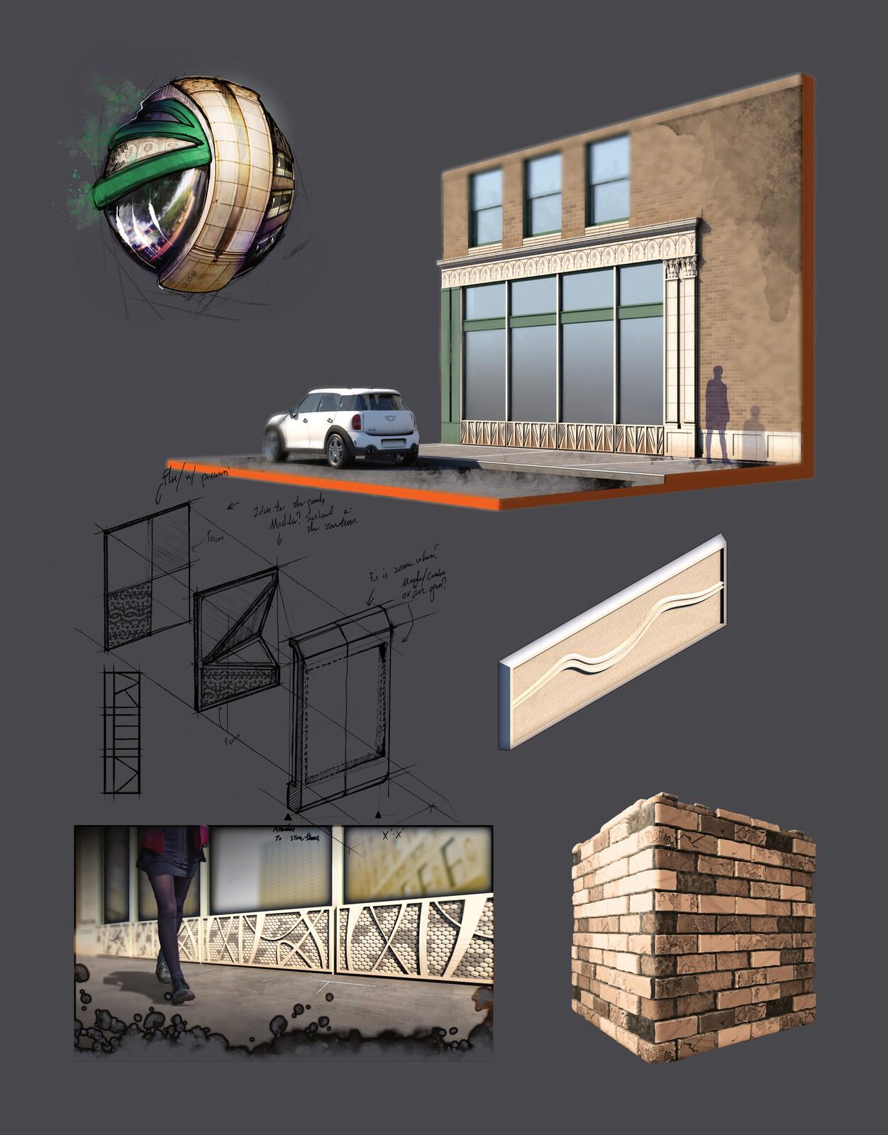 Historic Storefront Concept