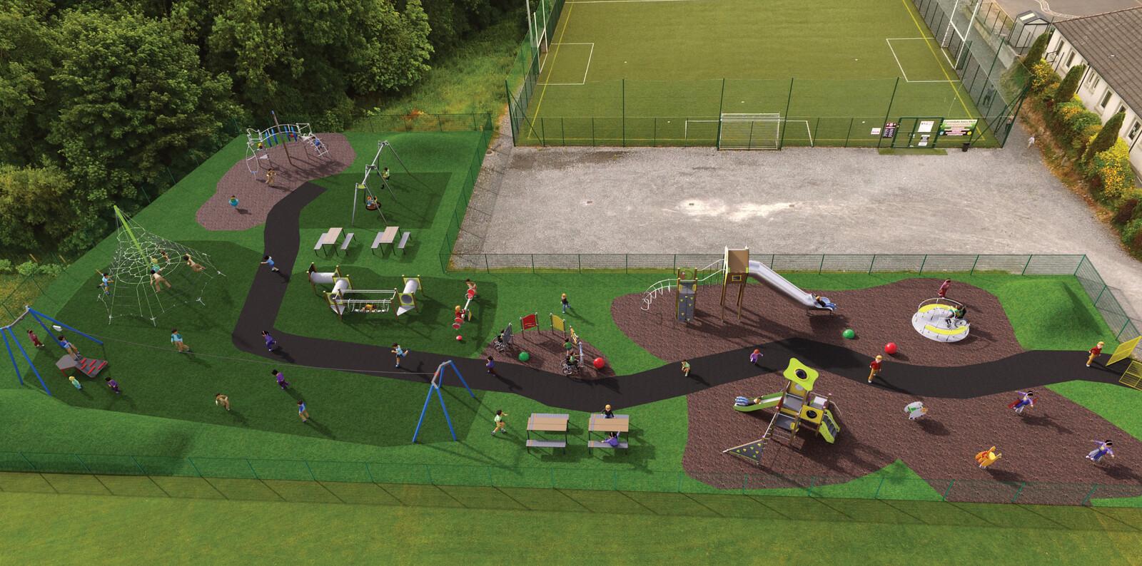 Playground montage view 4