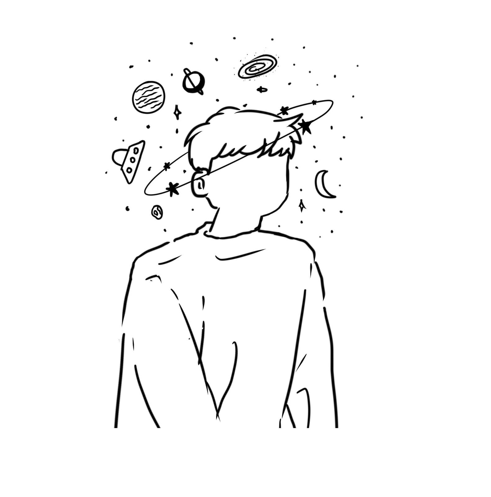 ArtStation   Aesthetic Space Boy, 𝓜𝓸𝓸𝓷 𝓝𝔂𝔁