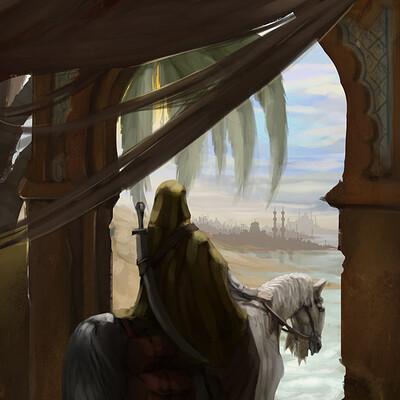 Daniel cunha a wanderer of the desert