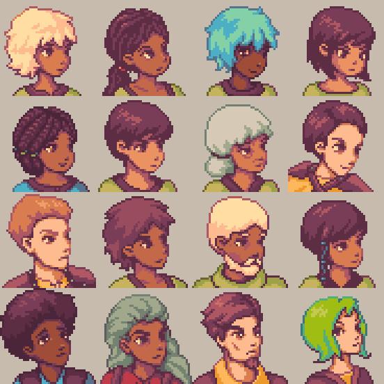 Solidarity character portraits