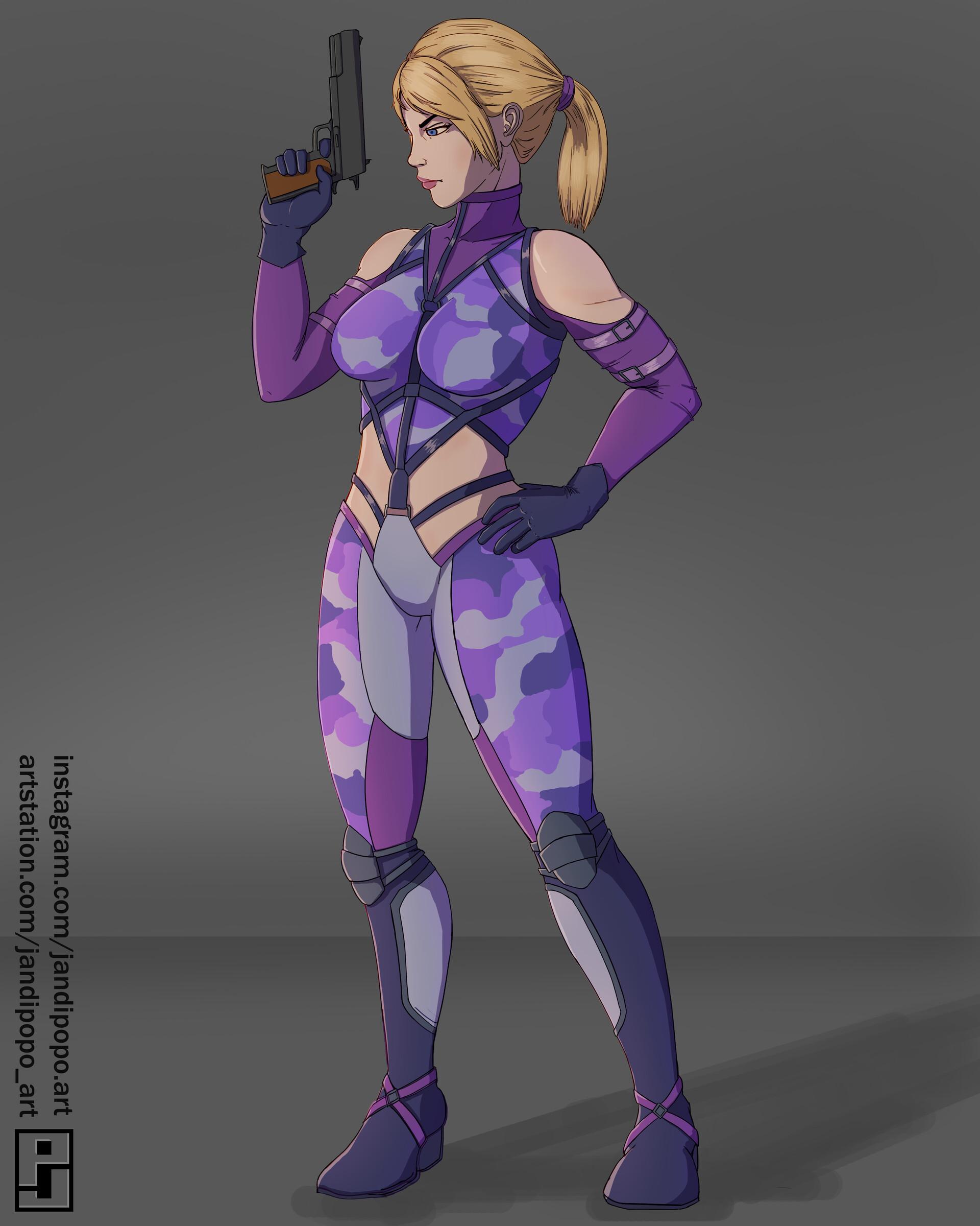 Artstation Tekken 7 Fanart Nina Williams Paolo Jandicala