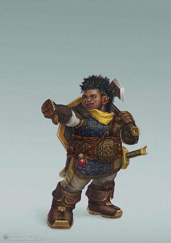 Dwarven Fighter