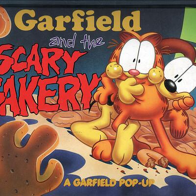 Gary barker garfield scary bakery