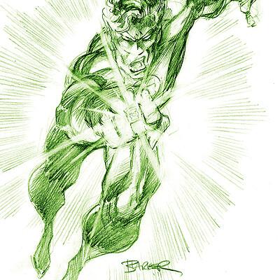 Gary barker greenlanternsketch1