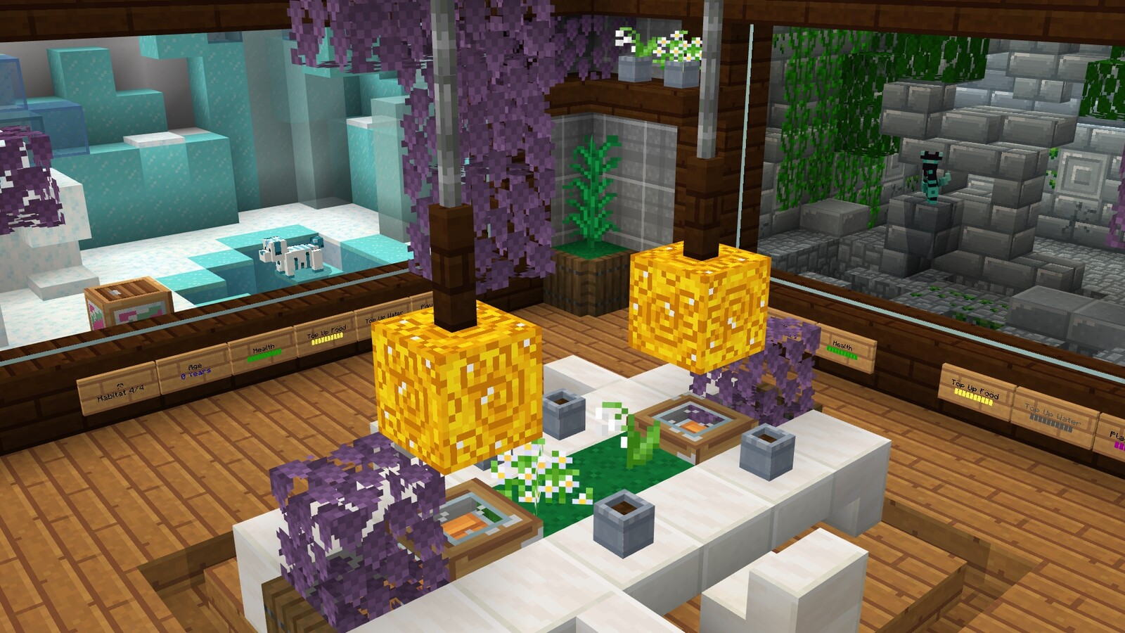 Preview of Room B's design. More modern and upgraded look.