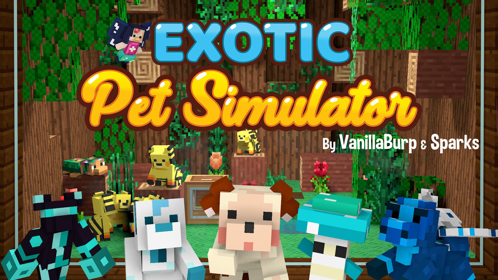Exotic Pet Simulator [Minecraft Simulation Game]